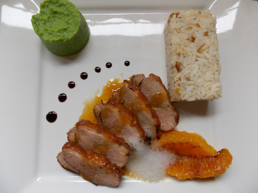 how to cook a whole duck with orange sauce